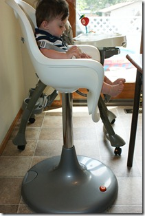 The Boon Flair is also made to adjust to any height that you want u2013 so if you want your toddler sitting up at the table but heu0027s not ready for his ... : boon high chair - Cheerinfomania.Com