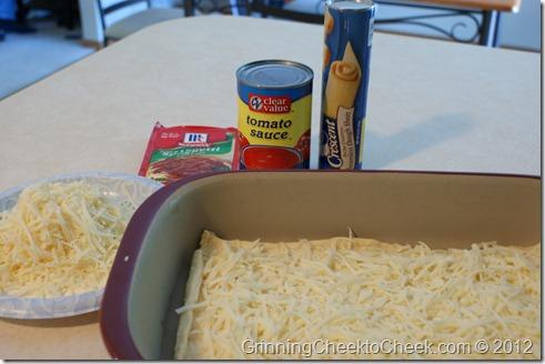ingredients for dinner