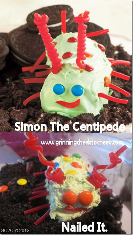 Simon the Centipede Treat