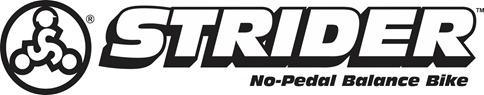 strider balance bike logo