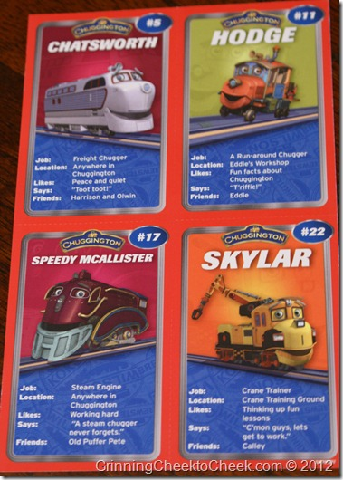 Chuggington Characters