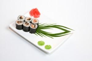 asian food sushi