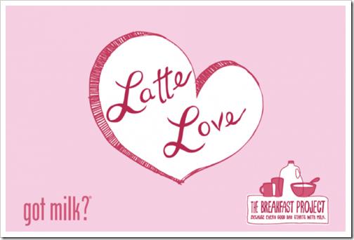 got milk latte love