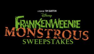 Frankenweenie Monstrous Sweepstakes Logo