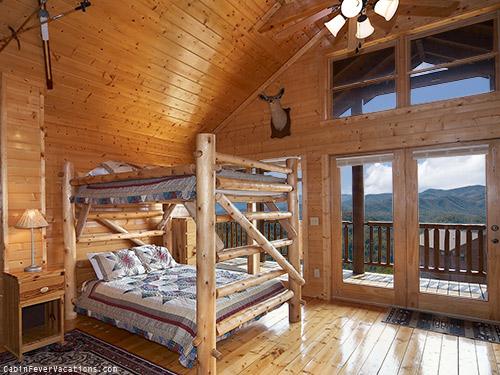 bedroom in lodge