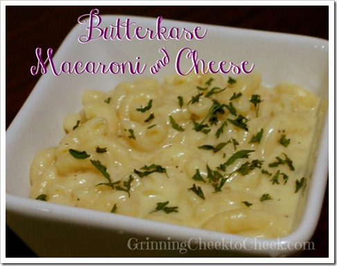 Butterkase Macaroni and Cheese