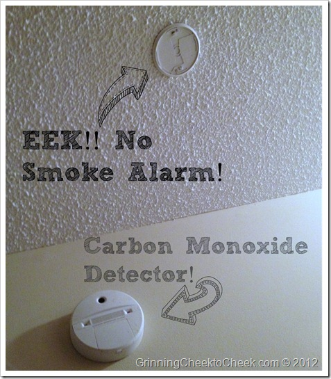 No Smoke Alarm
