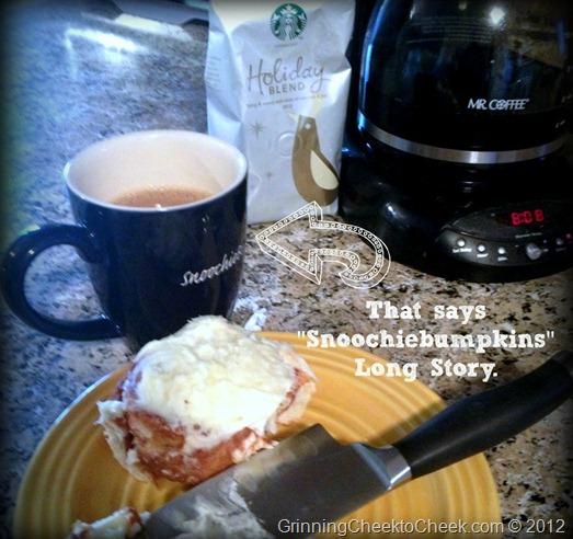 Coffee mug Starbucks Cinnamon Roll