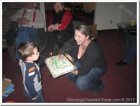 Andrew's 2nd Birthday