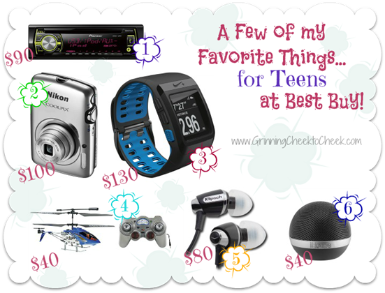 A Few Of My Favorite Things Gifts For Teens At Best Buy