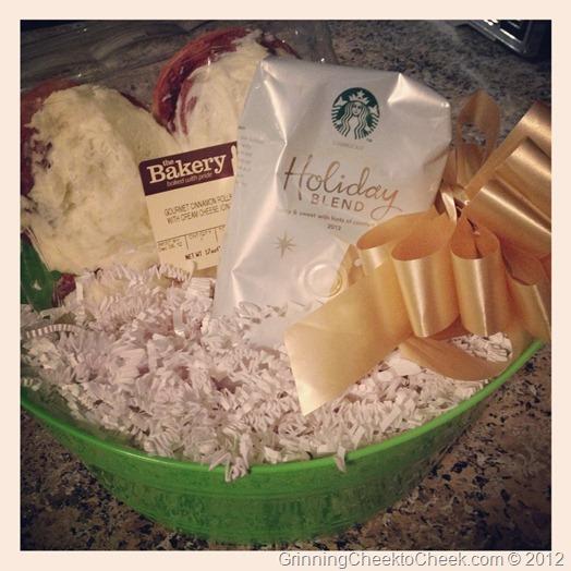 Holiday Teacher Gift Starbucks