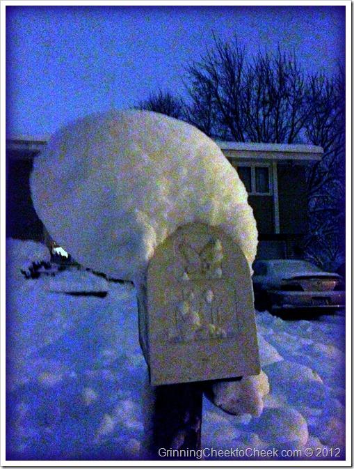 Snowy Mailbox 2