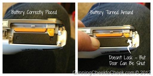Backwards Battery
