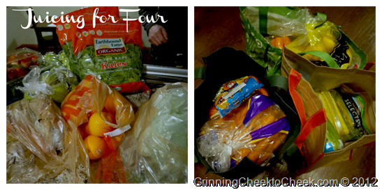 Juicing for Four