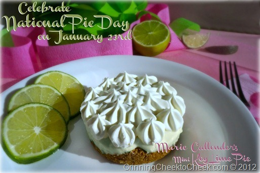 Marie Callenders Key Lime Pie Day