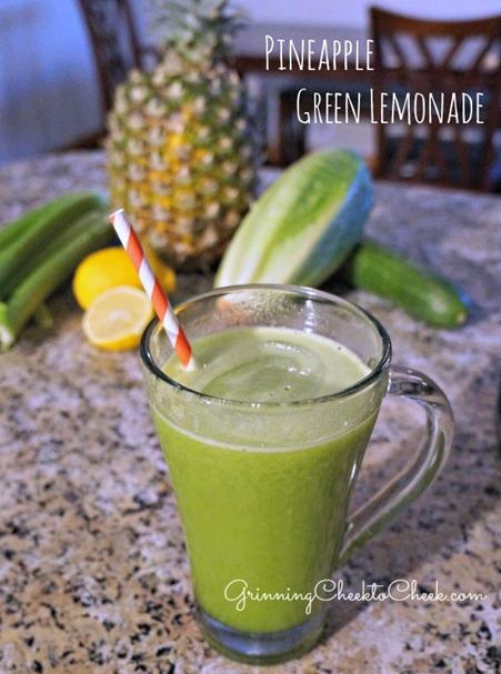 Pineapple Green Lemonade 3