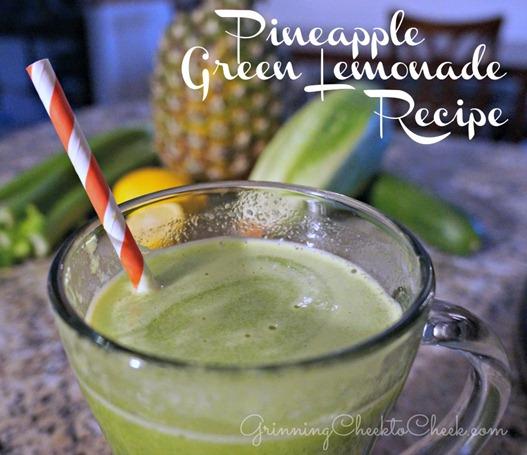Pineapple Green Lemonade