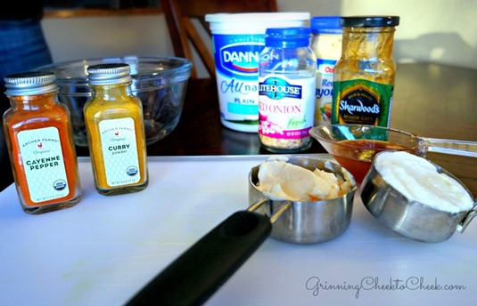 Curry Fondue Dipping Sauce Recipe