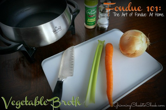 Fondue Vegetable Broth