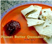 Peanut-Butter-Quesadilla