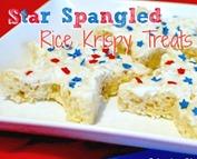 Star Rice Krispy Treats