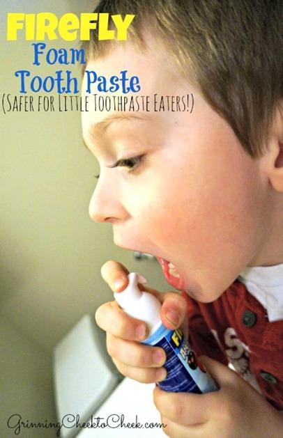 Foam Toothpaste