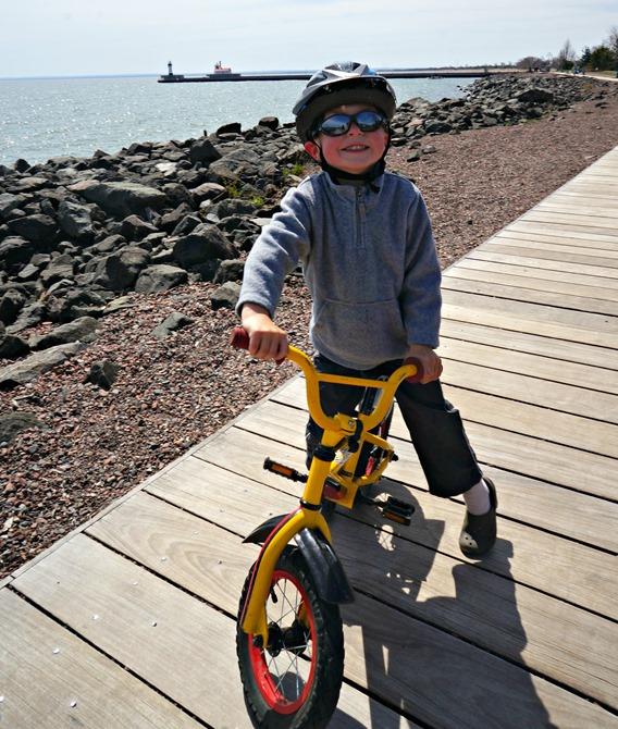 Biking with Glasses