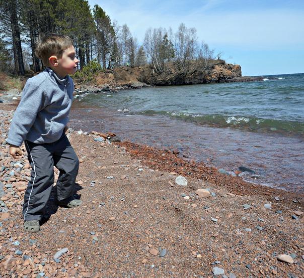 North Shore Throwing Rocks