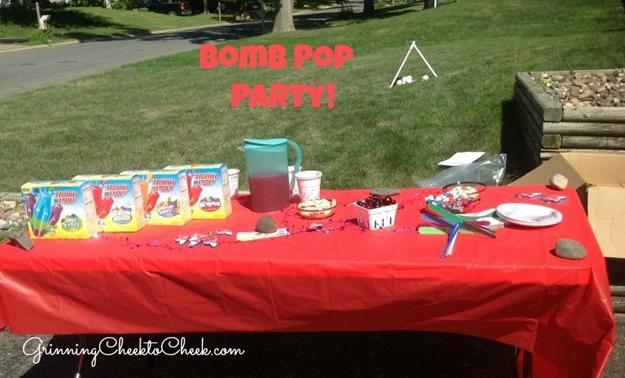 Bomb Pop Party