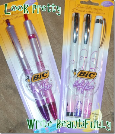 bic for girls