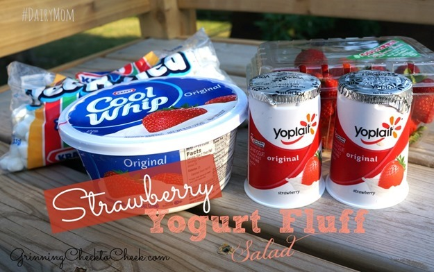 Strawberry Yogurt Fluff Salad