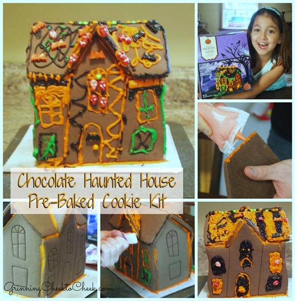 Chocolate Haunted House Cookie Kit
