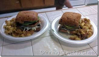 Delicious Family Night Burgers!