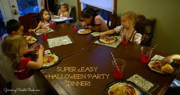 Easy Halloween Dinner