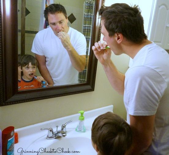 Teaching Children to Brush Their Teeth
