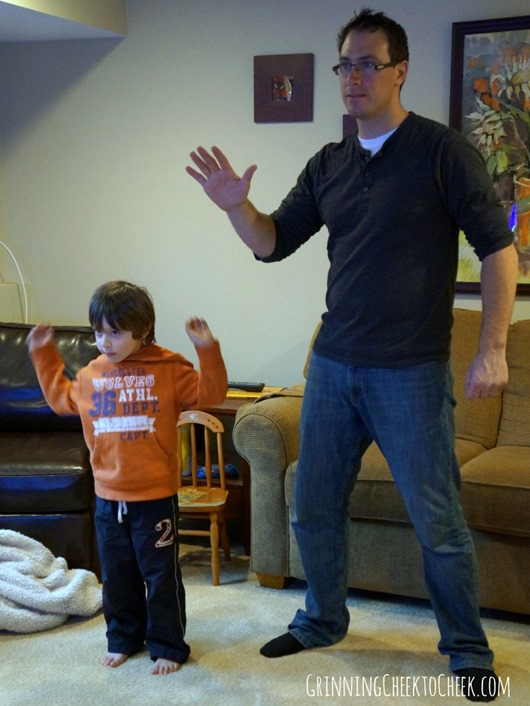 Just Dance Kids Dad Son