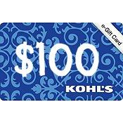 Kohls e-gift card Giveaway