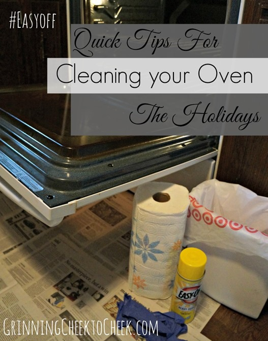 Quick Tips for Cleaning your Oven