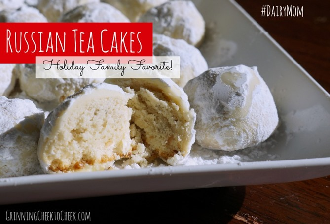 Russian Tea Cakes Recipe -The Gift of Dairy Holiday Traditions # ...