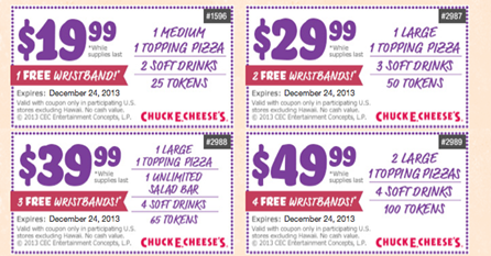 At Chuck E. Cheese's, our main goal is to provide fun and easy activities for kids marloslash.ml has been visited by 10K+ users in the past monthCoupons Available · New Menu · Free Wi-FiBirthday: Change/Cancel Reservation, Checklist, Food, Games, Invitations and more.