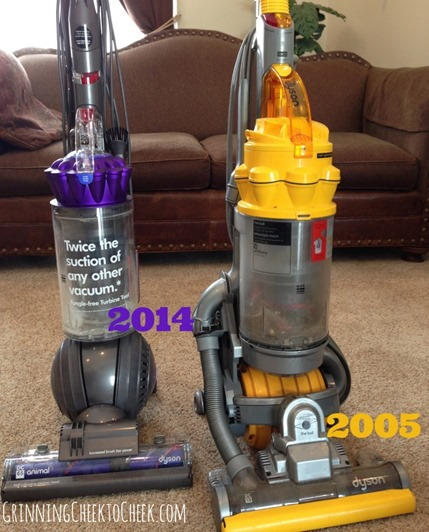 New vs Old Dyson