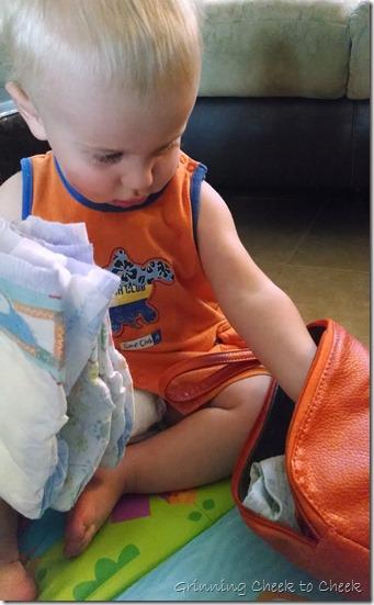 Posh Playmat Baby Clutch