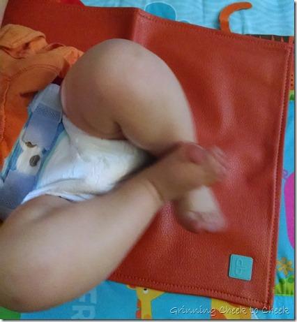 Posh Playmat Diaper Change
