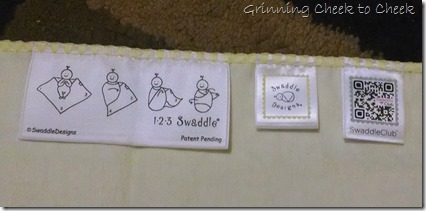 Swaddle Designs Tags