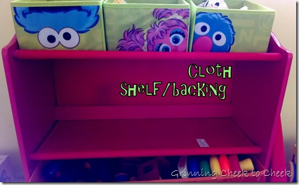 Delta Children Toy Shelf Backing