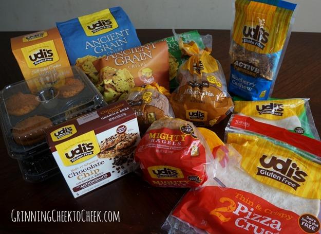 udis gluten free