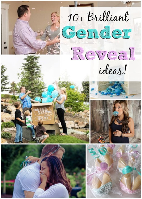 10  Brilliant Gender Reveal Ideas that are picture perfect