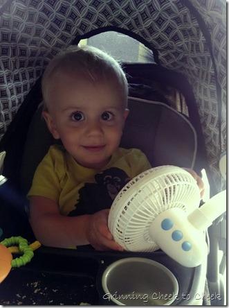 Diono Stroller Fan Baby