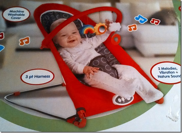 b18ec20f3 Miracles of a Baby Bouncer and Giveaway! - Grinning Cheek to Cheek