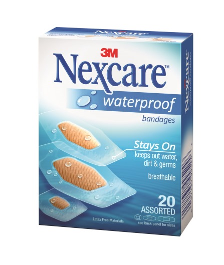 5Nexcare Waterproof Bandage Assorted_RT_CMYK